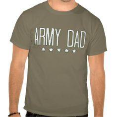 Star Army Dad T-shirts