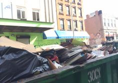 Photo Gallery: Tons Of Vinyl Being Tossed From Former Williamsburg Record Shop