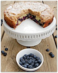 Back in the Day Bakery's Blueberry Buckle from Just Baked