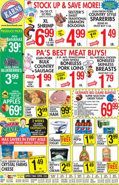Karns Weekly Ad January 19 - 25, 2016 - http://www.olcatalog.com/grocery/karns-weekly-ad.html