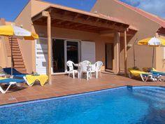 Villas Chemas - 3 Bed Villa for rent in Corralejo Fuerteventura sleeps up to 6 from £852 / €1015 a week