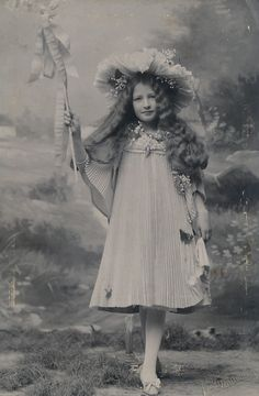 Cab Pretty Girl in Fairy Costume Named 'Franzi Hoffmann' Austria C 1905 | eBay