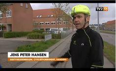 Maj 2015. TV2 OJ fokuserede på cykeladfærd, og jeg fik i den sammenhæng mulighed for at gøre opmærksom på, at mange regler for cyklister ikke er tilpasset virkeligheden. http://www.tv2oj.dk/artikel/256628:oestjylland--Ulogiske-regler-for-cyklisterne