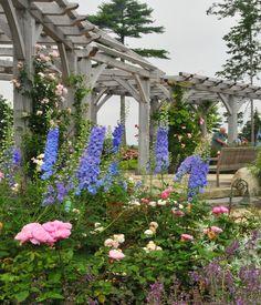 perennial gardens | ... Gallery: Perennial & Rose Garden – Coastal Maine Botanical Gardens