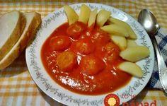 Tento recept som našla v ručne písanej kuchárskej knihe mojej babičky: Vyskúšala som ju raz a odvtedy ani inú nevarím! Hungarian Recipes, Food 52, Chana Masala, Cantaloupe, Mashed Potatoes, Pudding, Fruit, Ethnic Recipes, Desserts