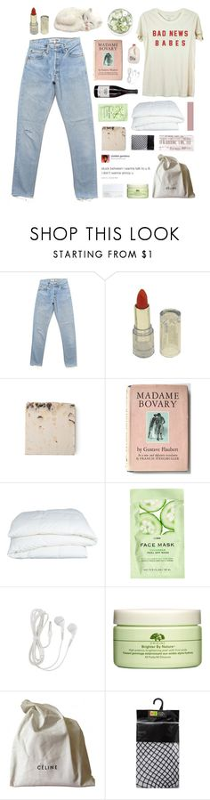 """never been with a boy more than six months, i couldn't do it."" by annamari-a ❤ liked on Polyvore featuring Enchanté, Crate and Barrel, H&M, NARS Cosmetics, Origins, CÉLINE and philosoqhytags"