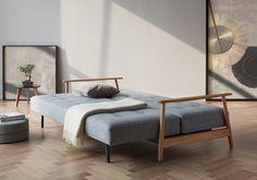 Velvet-Point - sofas Sleeping sofa 'Eluma Deluxe Button' by Innovation - Karlsruhe Diy Sofa, Diy Daybed, Sofa Bed, Canapé Convertible Design, Convertible Furniture, Convertible Bed, Sofa Design, Canapé Design, African Interior Design