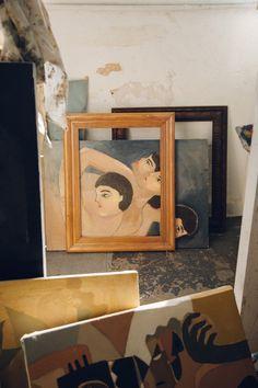 best of: Studio Tour: Painter Jess Brooks. / sfgirlbybay