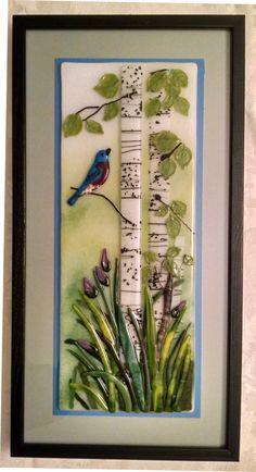 """Aspen Spring (14x16"""" framed)"""