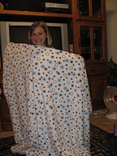 Karson's cuddle blanket