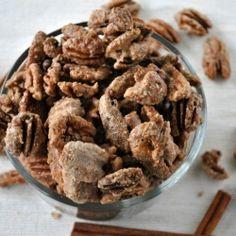 Candied Cinnamon Pecans by shugarysweets