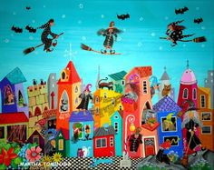 Martha Tominaga-Mundo de brujas