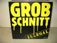 Grobschnitt - Illegal *GER1981* LP (Lyrics Innersleeve)