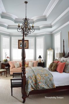 Master Bedroom-Housepitality Designs #bHomeApp