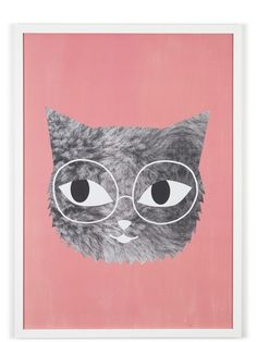 OMM Design Fur and Glasses Poster (50x70cm)