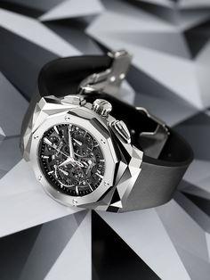 TimeZone : Industry News » N E W M o d e l - Hublot Classic Fusion Aerofusion Chronograph Orlinski
