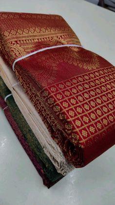 Kanjivaram Sarees Silk, Pure Silk Sarees, Bridal Sarees South Indian, Indian Bridal, Sarees For Girls, Silk Sarees With Price, Bridal Lehenga Collection, Baby Girl Pants, Bead Embroidery Patterns
