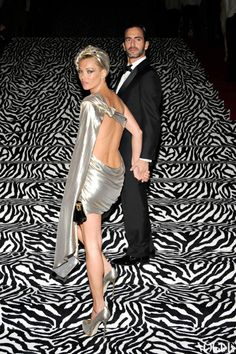 NOSTALGIA: Kate Moss and Marc Jacobs at the 2009 Costume Institute Gala.  At least Marc is wearing clothes in 2009. LOL