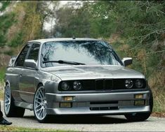 BMW E30 3 series grey I like - http://extreme-modified.com/