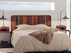 Tête de lit recyclée