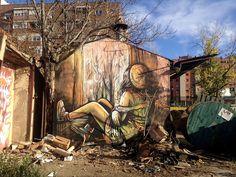 vimural.com  Alice Pasquini - Madrid (SP) on Flickr.Madrid (SP) #streetart #alicepasquini #madrid