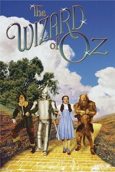 the Wizard of Oz a family move night with popcorn and soda!