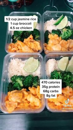 Easy Healthy Meal Prep, Good Healthy Recipes, Clean Recipes, Healthy Drinks, Healthy Snacks, Healthy Eating, Cooking Recipes, Lunch Meal Prep, Budget Meal Prep