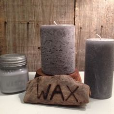 Driftwood-A warm earthy blend having the fragrance of berries, saltwater, hibiscus and red bush. Made in Helena, AR by Wax Candle Company. Available at Handworks Helena. http://www.handworkshelena.com/product/wax-candle-company-boot-3/