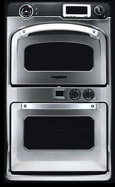 """Turbo Chef 30"""" Double Speedcook Oven - 208V - Stainless Steel  #RWD-9020-9  = $10,000 ... Upper Oven cooks 15x's faster than normal. http://www.turbochef.com/residential/products/overview.aspx"""