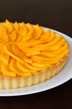 I must learn to make this Thai-Inspired Mango Coconut Custard Tart! Easy Pie Recipes, Jello Recipes, Tart Recipes, Mango Tart, Mango Fruit, Coconut Tart, Coconut Cream, Coconut Custard, Mango Recipes