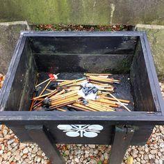 Used brushes and pencils collected at Kameido Tenjin for a ritual service for writing brushes (Fude Kudo). Those exposed to the smoke from burning brushes and pencils will make great progress in writing.  #shrine #Japan #Japon #Tokyo  #travel #travelgram #travelphotography #instatravel #instagood #photooftheday #fujifilm_xseries #fujifilm #fujixt1 #bokeh #GrittyMonkey #igersjp #ig_japan #igers #ig_nihon #photowalk #wu_japan #shinto #shintoshrine (by balbo42)