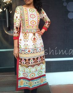 Code:1503160-Printed Soft Cotton With Work Price INR:1890/-