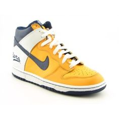Nike Dunk High NY Rens Sneakers Shoes Yellow Mens, $57.99 | www.findbuy.co