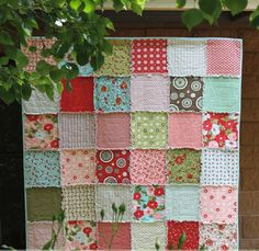 Quick and Cuddly Rag Quilt                                                                                                                                                                                                                                                                                                                                                                                              %2