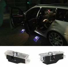 2 pcsX Luce Dell'ombra del Fantasma Benvenuti Proiettore Laser Luci LED Auto Logo Per BMW M Performance E60 M5 E90 F10 X5 X3 X6 X1 GT E85 M3