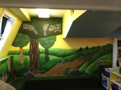 This mural was created for a daycare in St.Albert, thanks for looking!  Check out my page on facebook at Caught Your Eye Murals Wall Murals, Thankful, Eye, Facebook, Canvas, Create, Check, Painting, Design