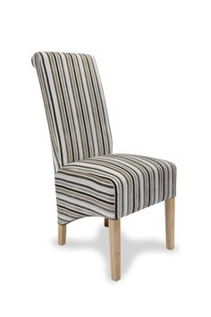 Dora Oak and Upholstery Designed Chair - Color Selection