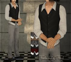 esperesa | [Clothing] Fortune's Fool - Vest and loafers for AM
