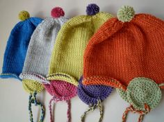 Round-Earflap Hat