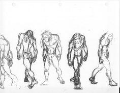 Glenn+Keane%2C+Tarzan+Ruff+Turnaround%2C+Pencil.jpg (1600×1236)