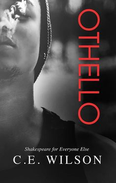 C.E. Wilson's Othello book cover design © Regina Wamba of Mae I Design and Photography cover stories that rock off the pages, www.maeidesign.com for more book covers, author branding, book promotion and custom cover photography  model: Christian