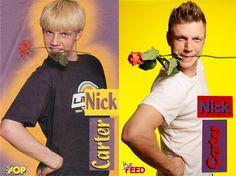 Nick Carter And Jordan Knight Re-create Adorable Boy-Band Photos - NewNowNext @NewNowNext