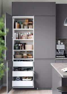 Arcezio - visualization solutions for Real Estate Diy Kitchen Storage, Ikea Kitchen, Home Decor Kitchen, Kitchen Interior, Home Kitchens, Home Decor Furniture, Kitchen Furniture, Pooja Room Design, Outdoor Living Rooms