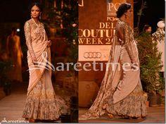 #Sabyasachi at PCJ Delhi Couture Week 2013 #sarees,#saris,#indianclothes,#womenwear, #anarkalis, #lengha, #ethnicwear, #India #fashion