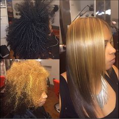 STYLIST FEATURE| This #color #transformation by #AtlantaStylist @HairbyChantellen is amazing Her hair is silked to perfection ❤️ #VoiceOfHair ========================= Go to VoiceOfHair.com ========================= Find hairstyles and hair tips! =========================