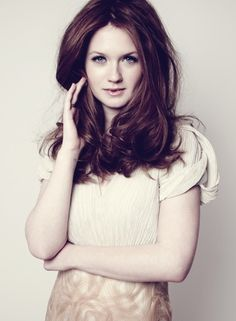Ginny's all grown up, and super gorgeous.