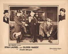 Lobby Card from the film Double Whoopee