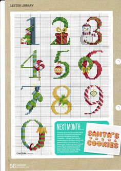 Thrilling Designing Your Own Cross Stitch Embroidery Patterns Ideas. Exhilarating Designing Your Own Cross Stitch Embroidery Patterns Ideas. Xmas Cross Stitch, Cross Stitch Love, Cross Stitch Needles, Cross Stitch Charts, Cross Stitching, Cross Stitch Embroidery, Hand Embroidery, Cross Stitch Numbers, Cross Stitch Letters