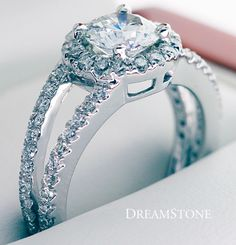 Dual-Shank Halo Pave-Set Diamond Engagement Ring:   http://www.dreamstone.com/store/pc/viewprd.asp?idProduct=4839965