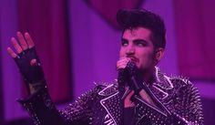 Adam Lambert performs at Revention Music Center in Houston.